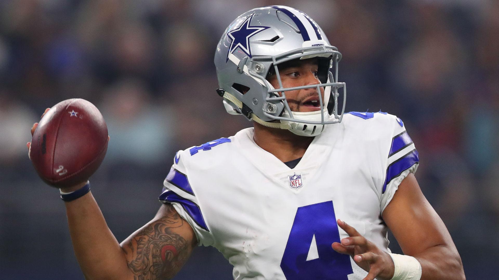 Dallas Cowboys quarterback Dak Prescott discussed the Philadelphia Eagles' trash talk.