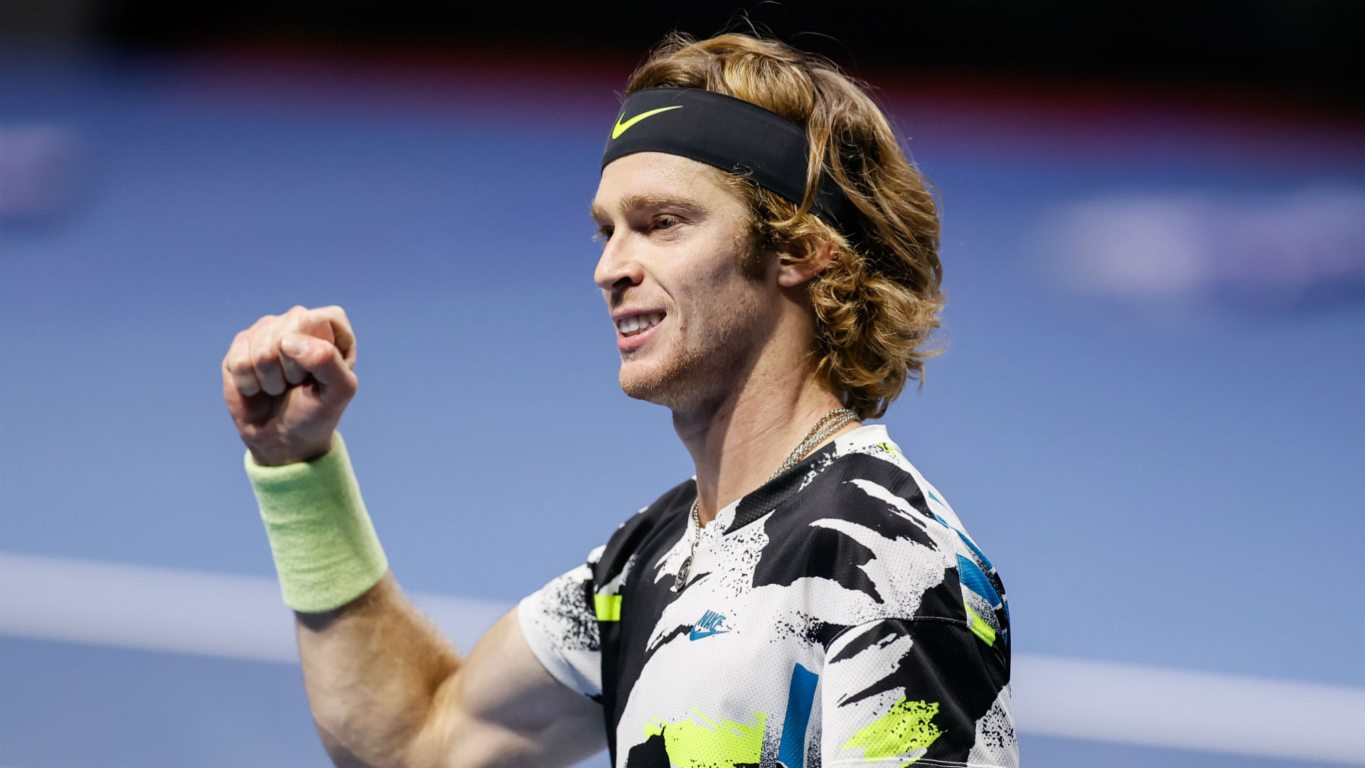 The St Petersburg Open final will see Andrey Rublev face Borna Coric, who is through to the showpiece for the second successive year.