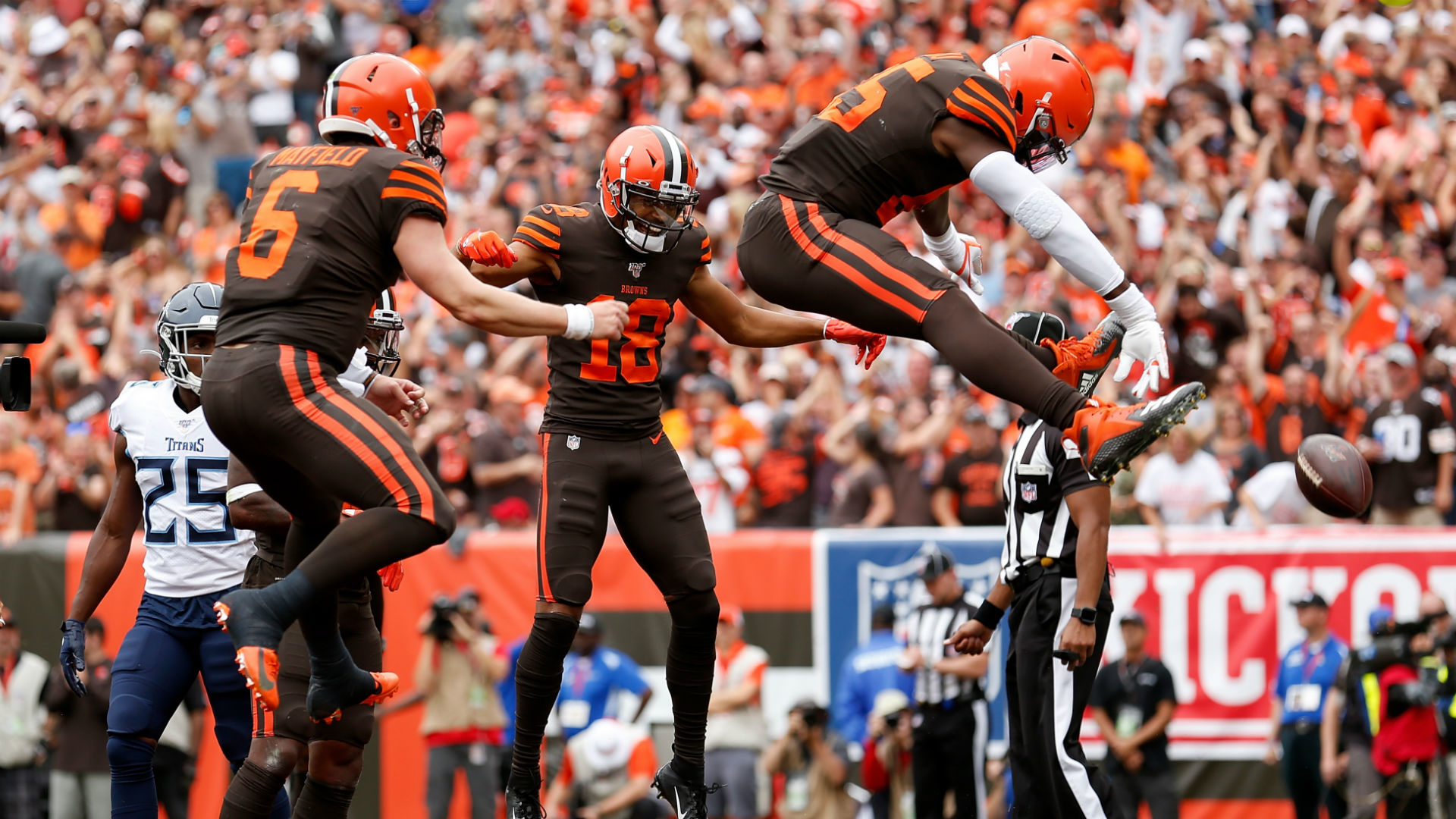 David Njoku has been out of action since suffering a wrist injury in Week 2 but could be about to return.