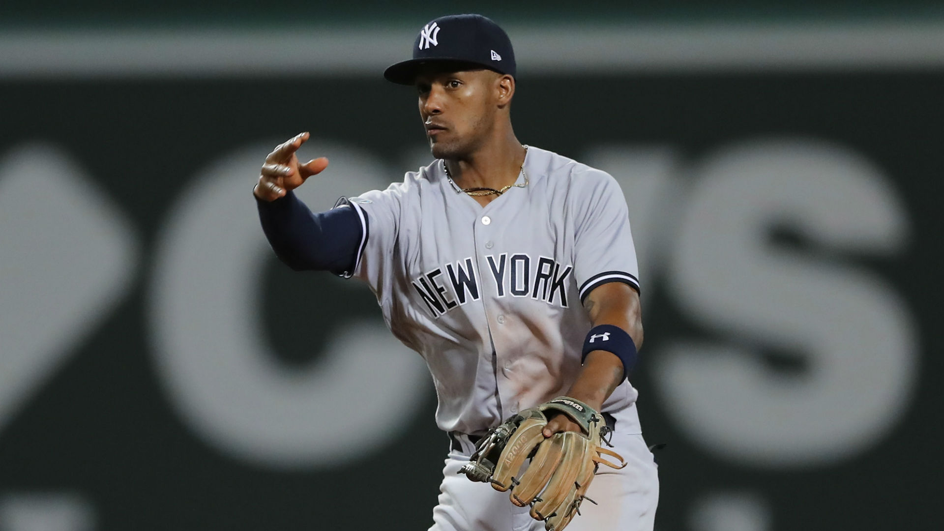 Miguel Andujar did all he could to fight through a shoulder injury but he ultimately had to call it quits on the season.