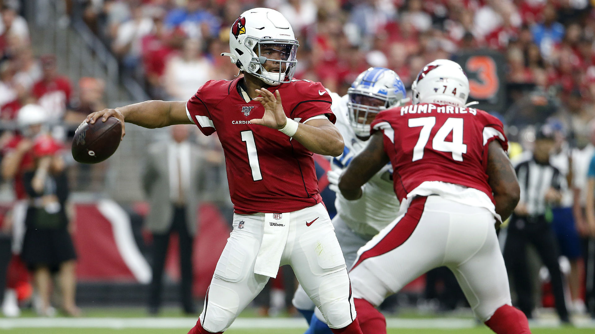 Rookie quarterback Kyler Murray helped the Arizona Cardinals to a draw with the Detroit Lions on his NFL debut.