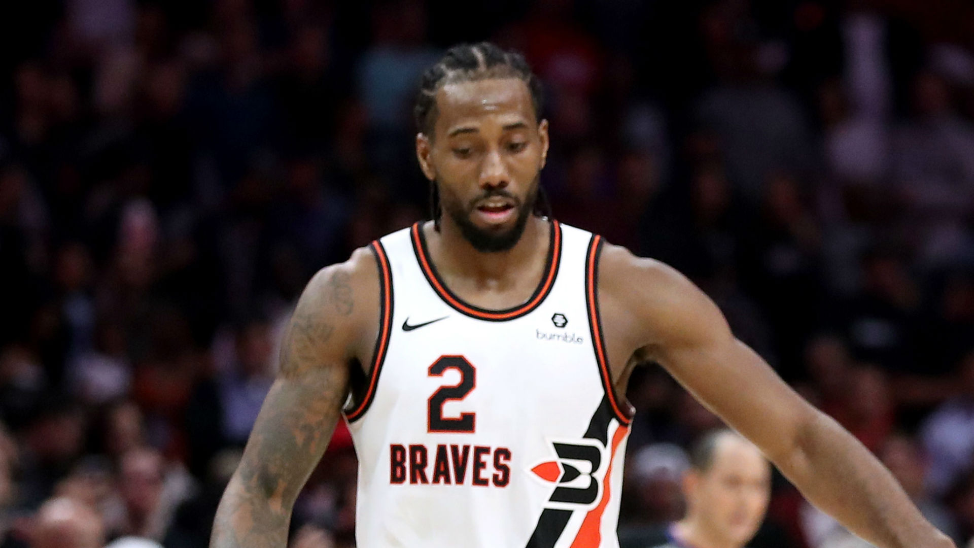 """The NBA revealed Kawhi Leonard is suffering from """"an ongoing injury to the patella tendon in his left knee"""", shocking the Clippers star."""