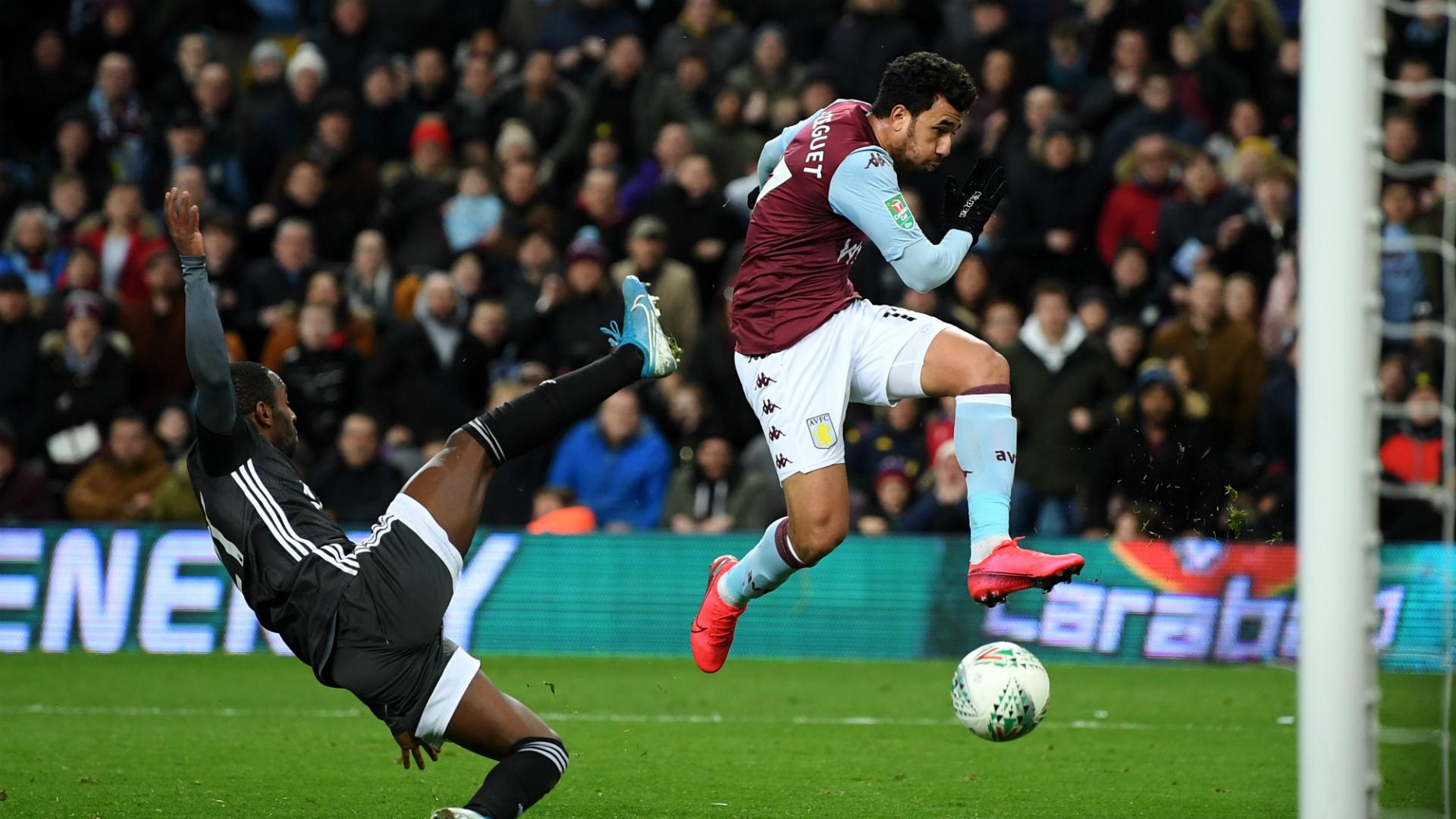 Aston Villa 2-1 Leicester (3-2 agg)