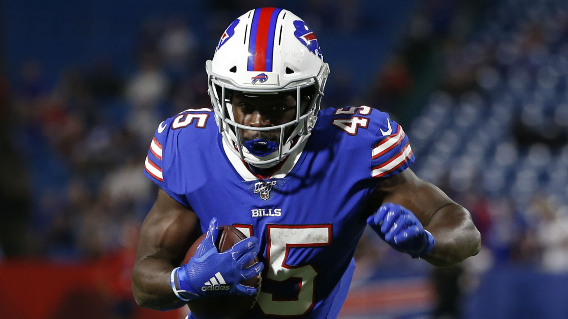 """Christian Wade can """"definitely"""" make the Buffalo Bills' active roster in 2020, according to quarterback Josh Allen."""