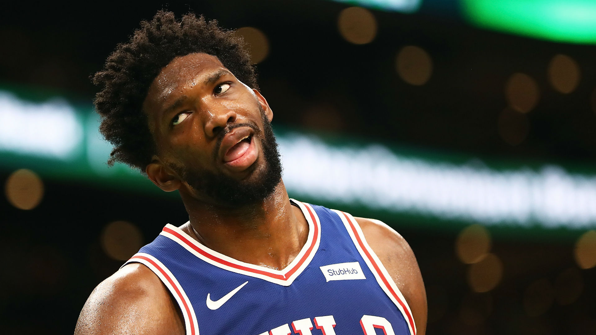 Embiid: Celtics always kick our a**