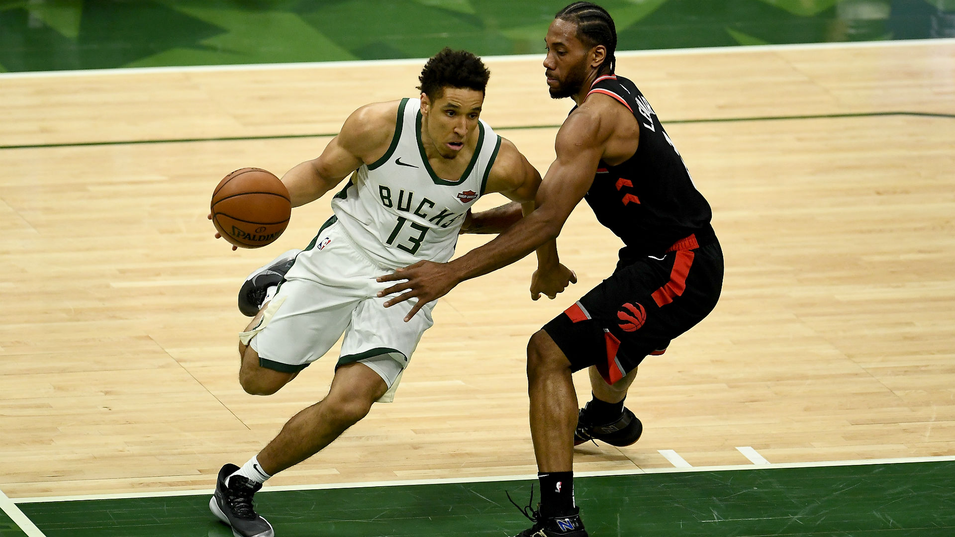 Malcolm Brogdon stepped up as the Milwaukee Bucks edged the Toronto Raptors in the NBA playoffs.