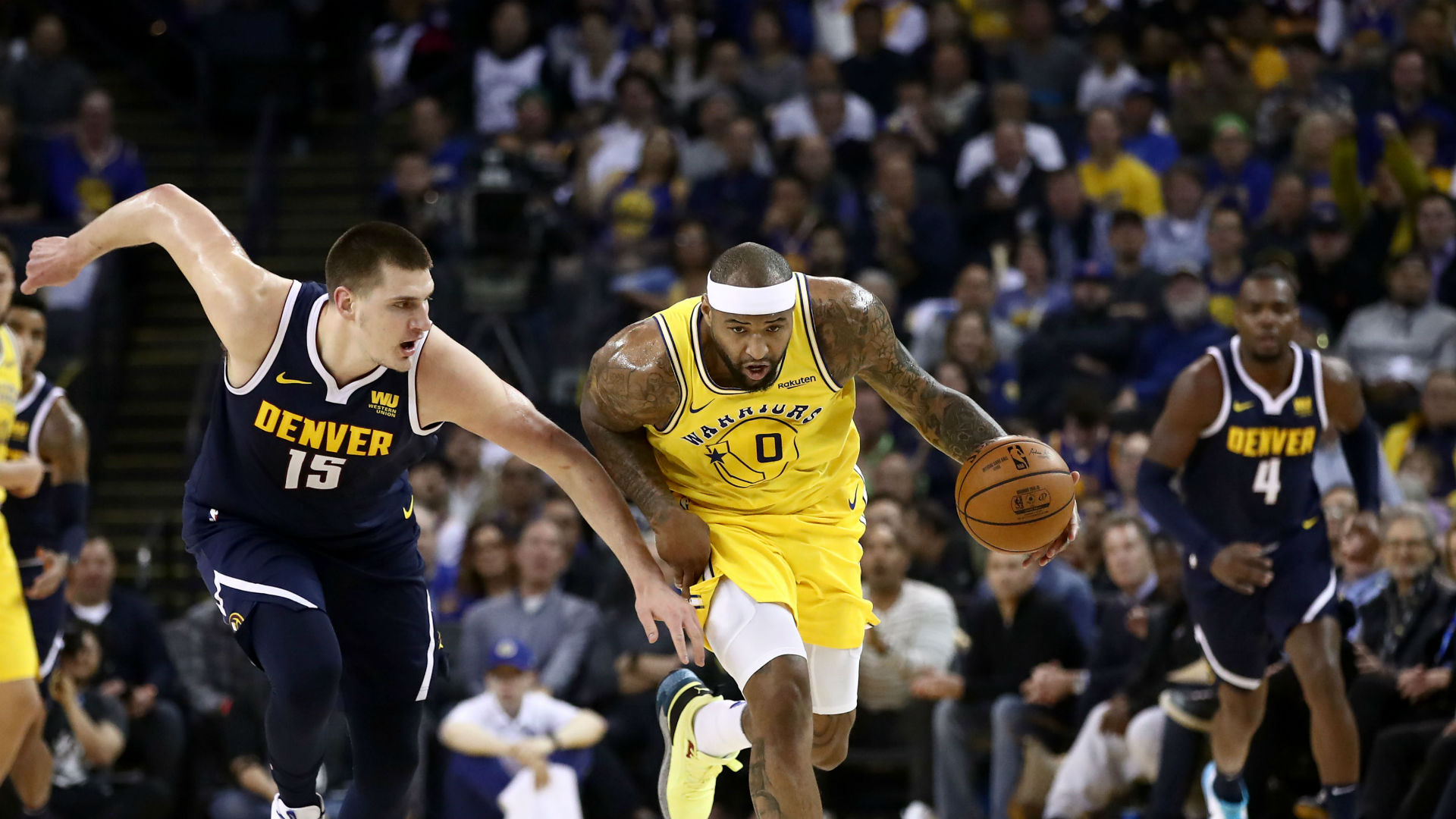 Cousins praised by Kerr and Curry