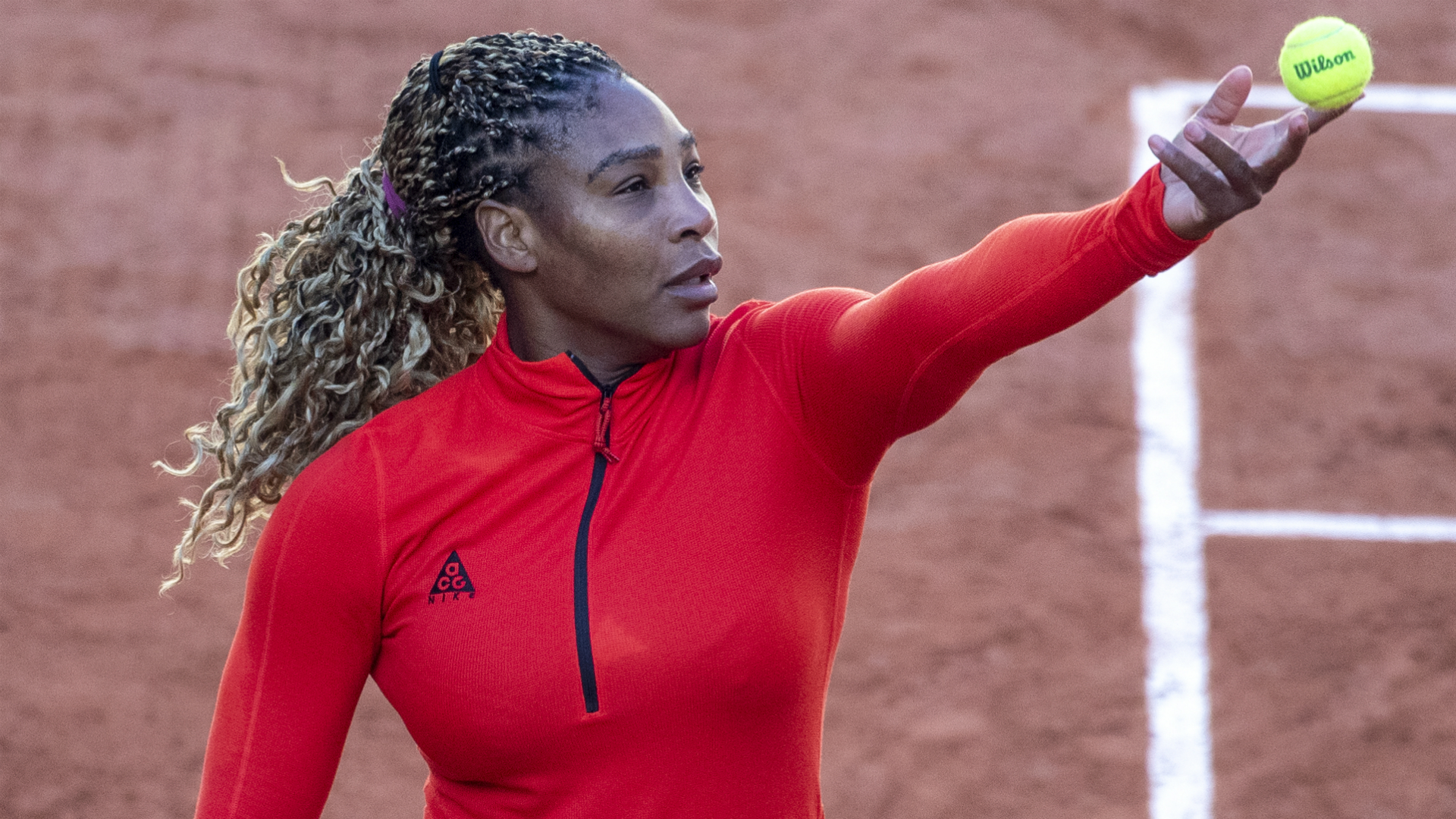 Serena Williams previewed the French Open as she discussed her preparations at Roland Garros.