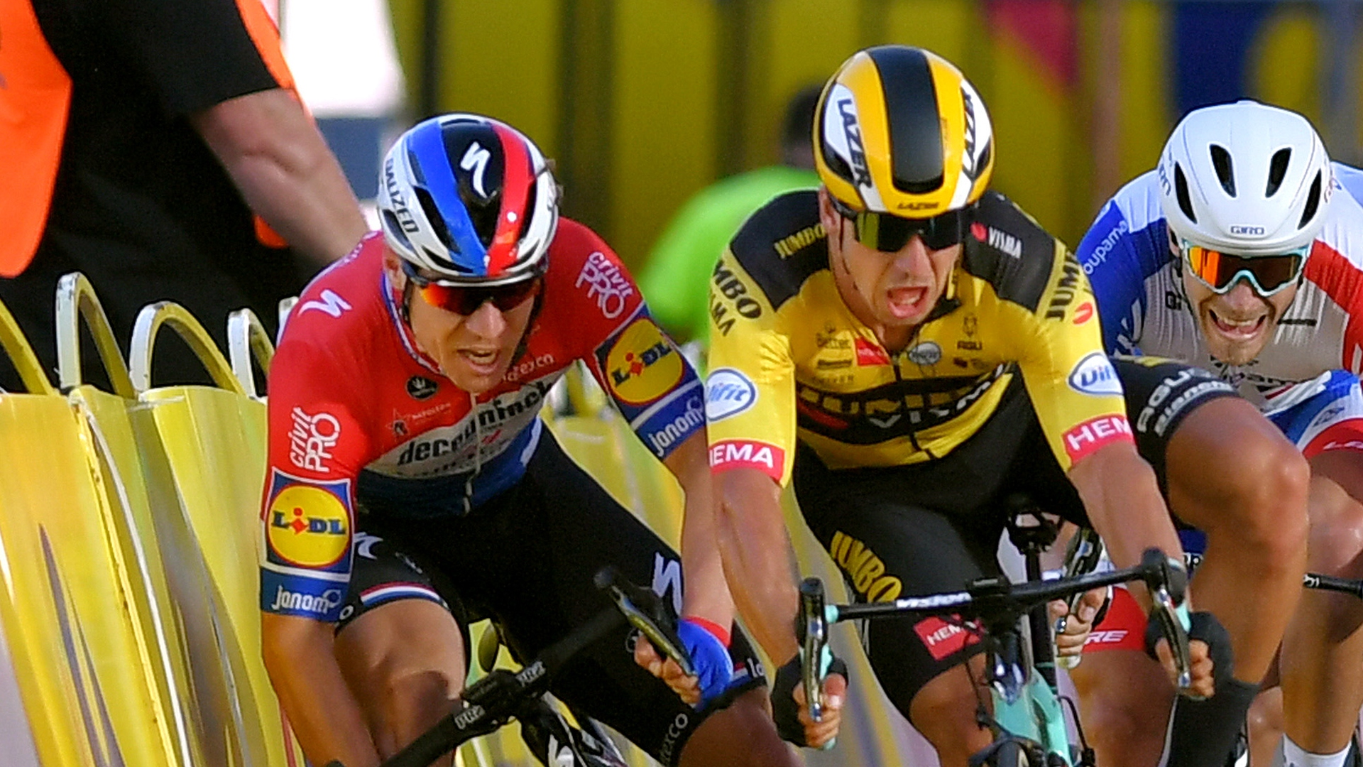 The UCI has issued a nine-month ban to Dylan Groenewegen after the incident that left Fabio Jakobsen fighting for his life.