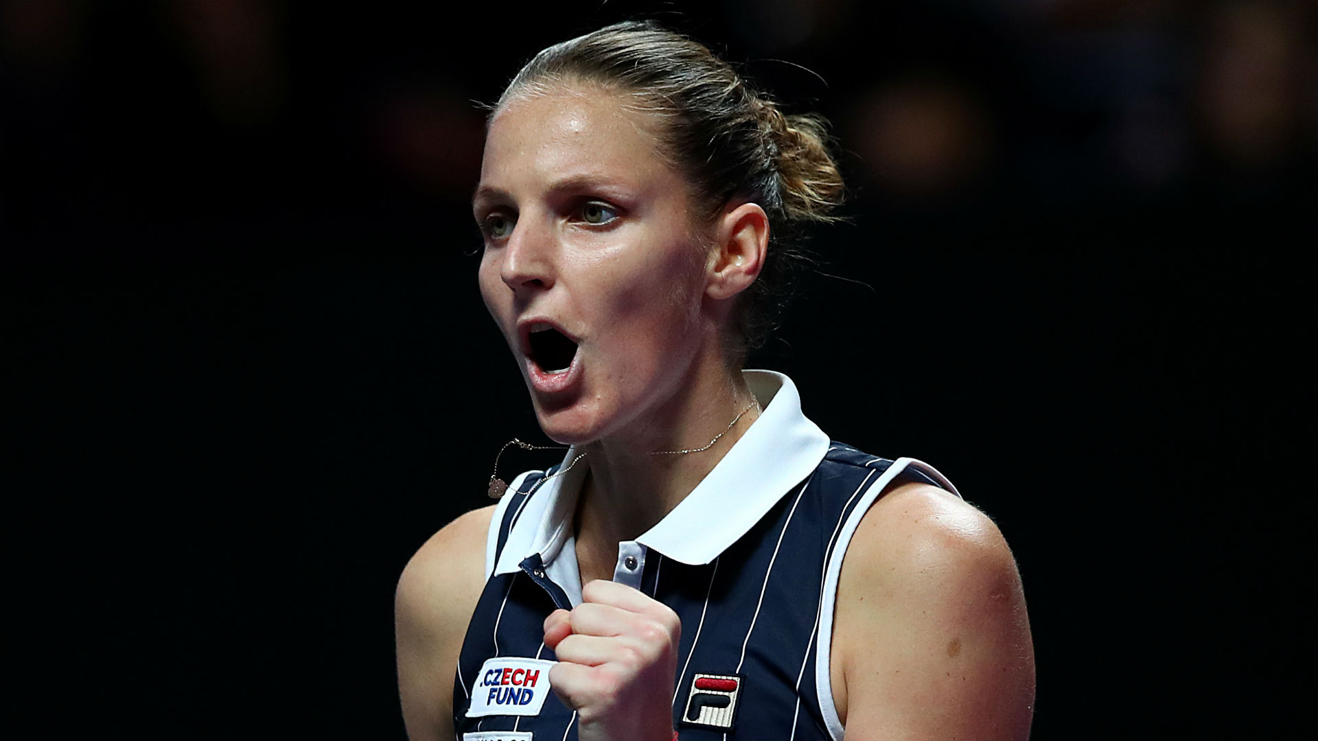Karolina Pliskova believes Dani Vallverdu could be the man to take her to another level as she eyes a first grand slam title.