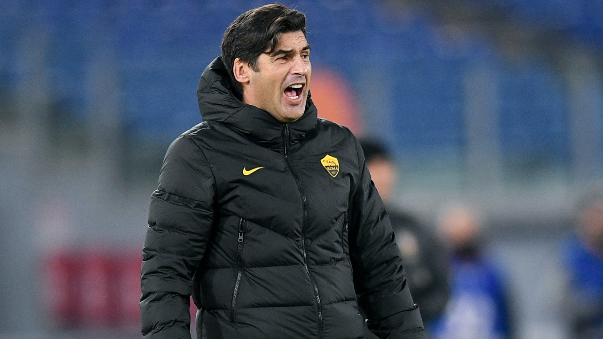 Paulo Fonseca addressed the mistake made as Roma crashed out of the Coppa Italia on Tuesday.