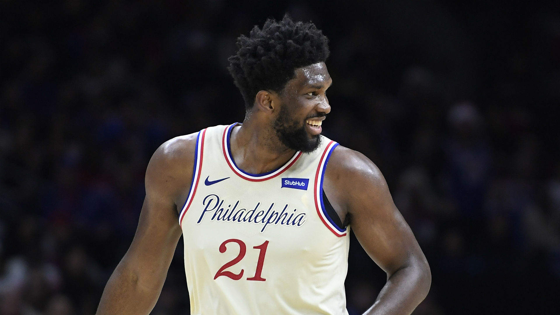 Brett Brown had high praise for Joel Embiid's training and conditioning, while he provided an update on Ben Simmons.