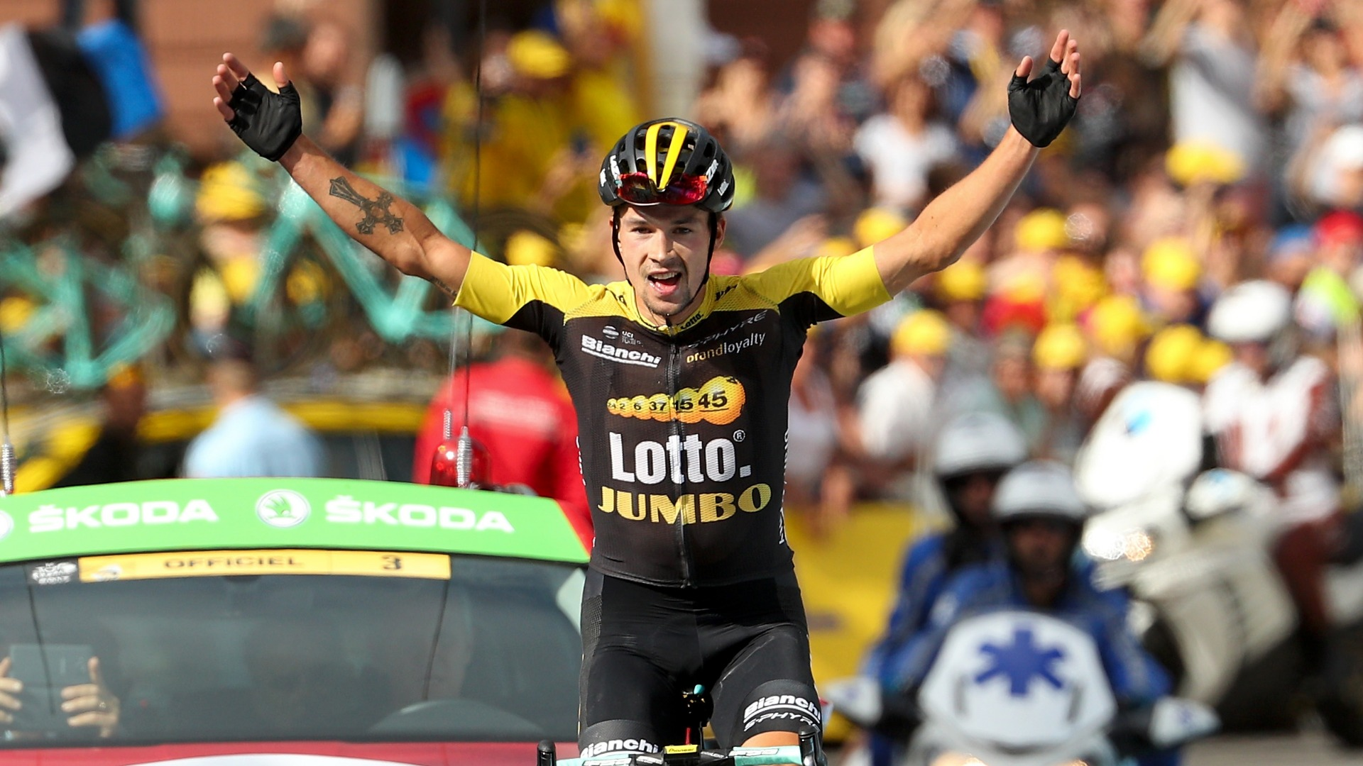 No Slovenian rider had ever won a Grand Tour before, but Vuelta a Espana champion Primoz Roglic was joined by a compatriot on the podium.
