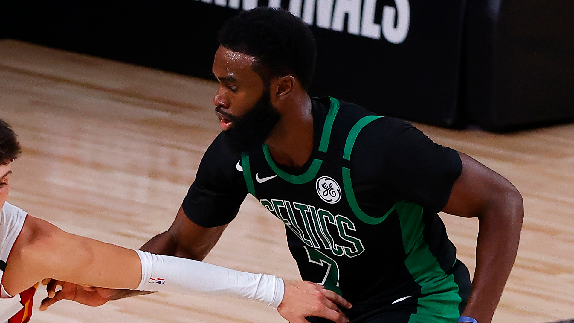 Tensions ran high in the Boston Celtics locker room after a second consecutive loss to the Miami Heat.