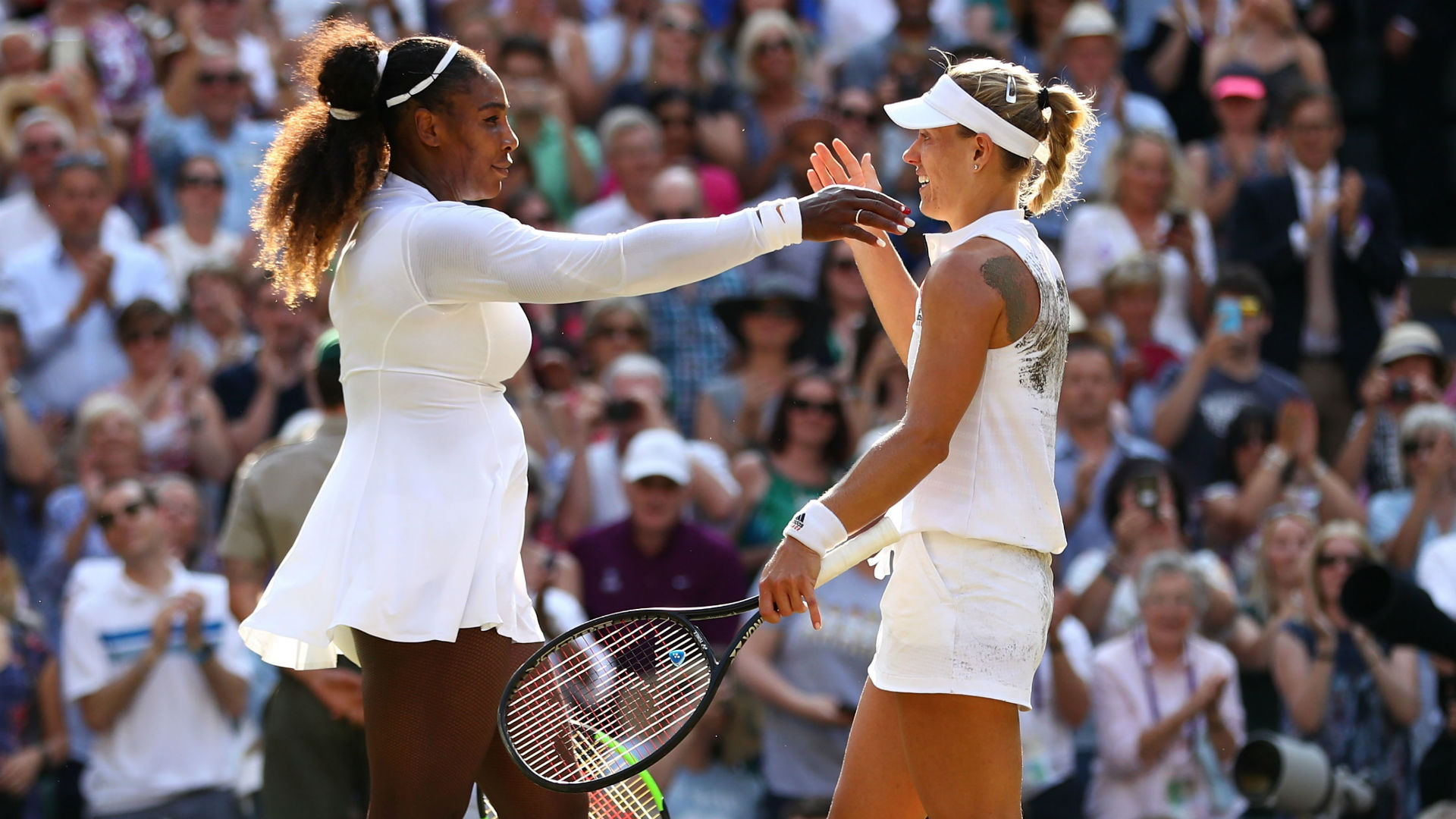 Maria Sharapova, Venus Williams and Angelique Kerber have achieved a feat that Simona Halep has in her sights at SW19.