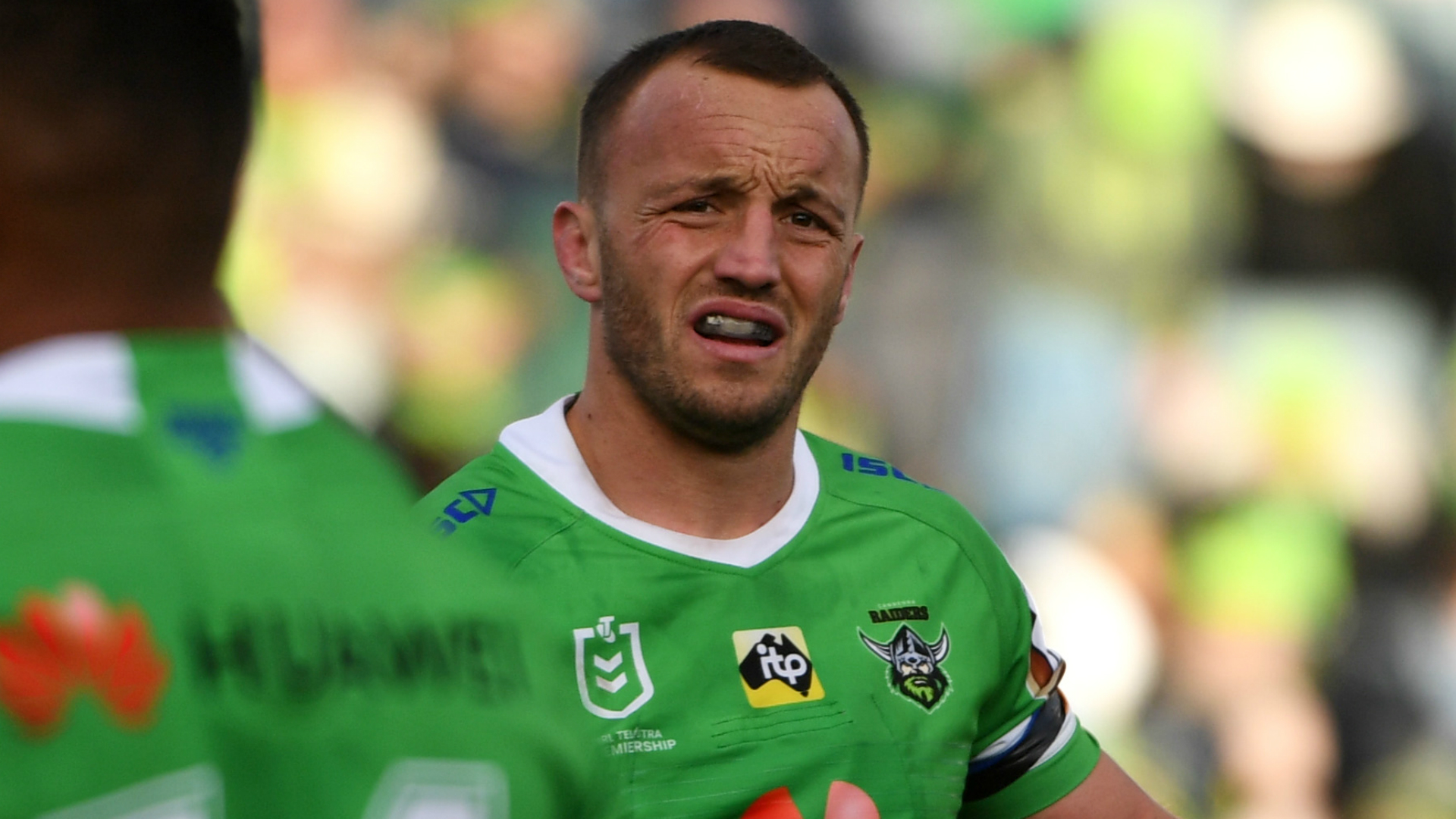 Josh Hodgson is unsure what the future holds for NRL players amid the COVID-19 crisis, which has brought sport to a standstill.