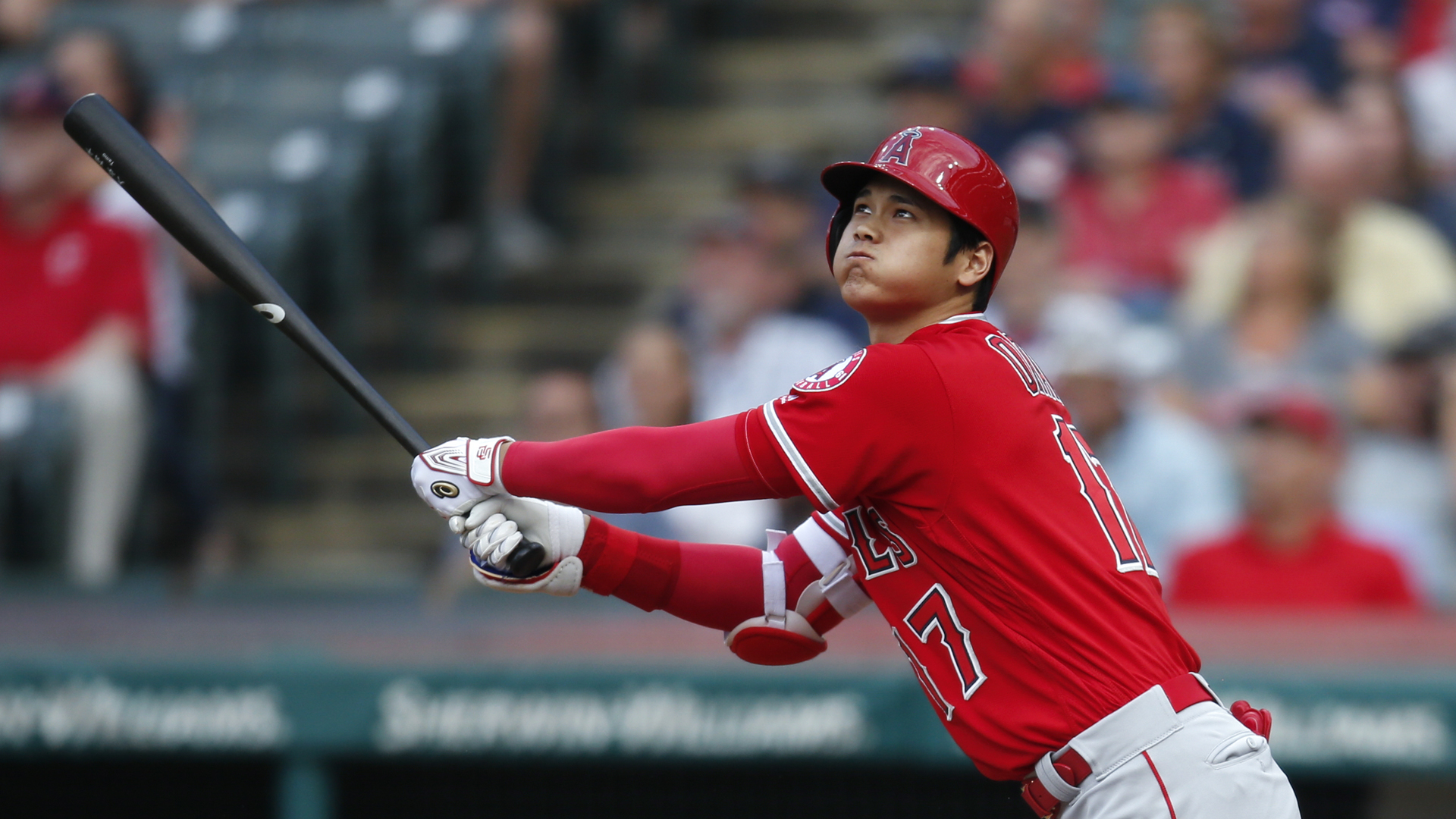 Ohtani will not pitch in 2019 after undergoing Tommy John surgery in October, but he could be back to hit a couple of months in.