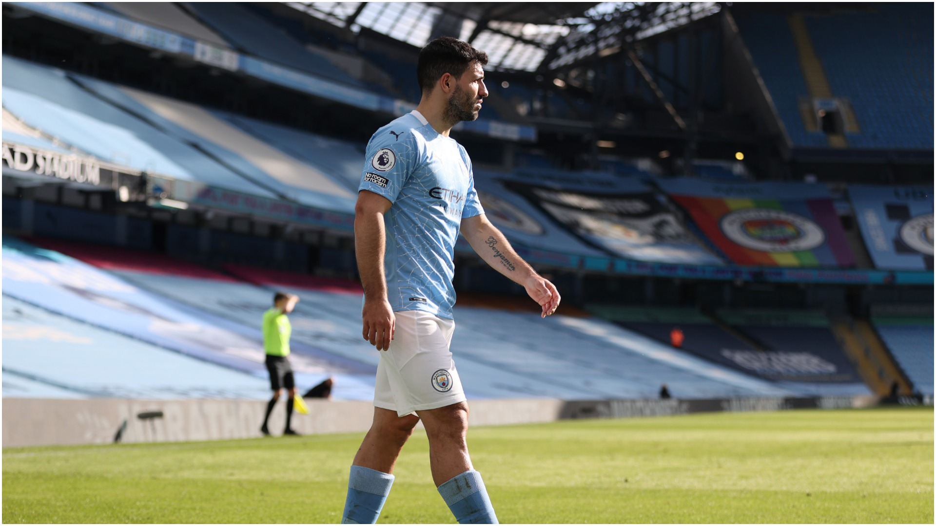 Fit-again Sergio Aguero will have to bide his time as Pep Guardiola carries on rotating Manchester City's squad.