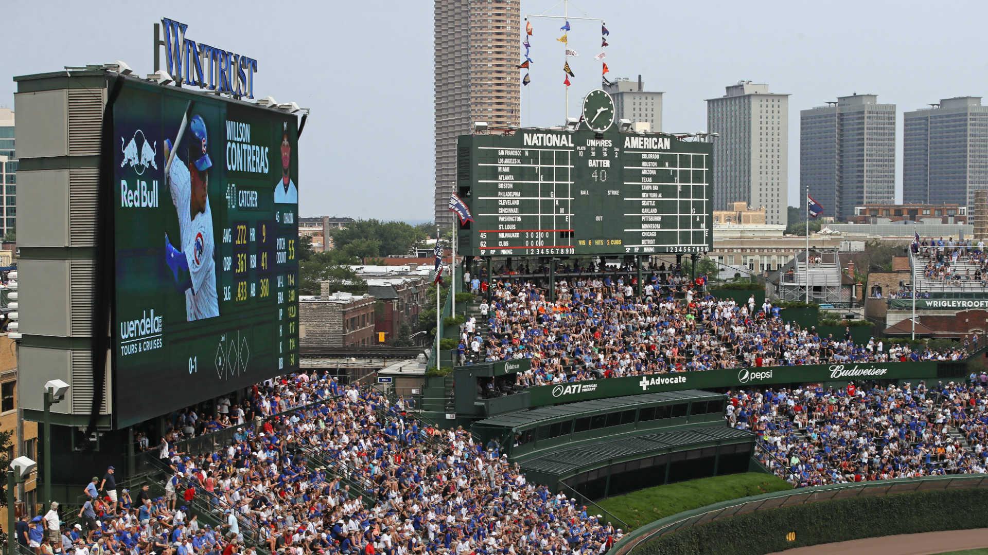 Cubs consider Wrigley sportsbook