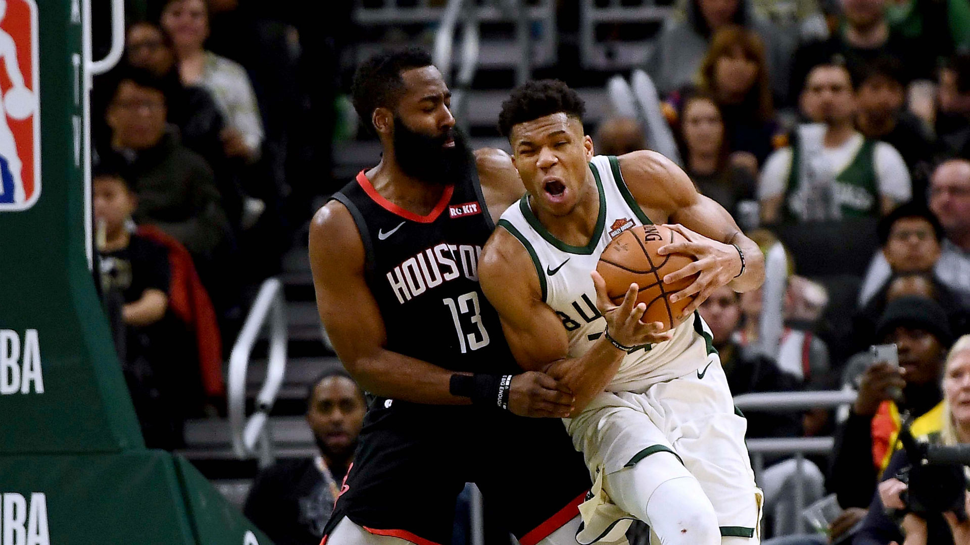 The narrative established around Milwaukee Bucks star Giannis Antetokounmpo by the media won him MVP honours, says James Harden.