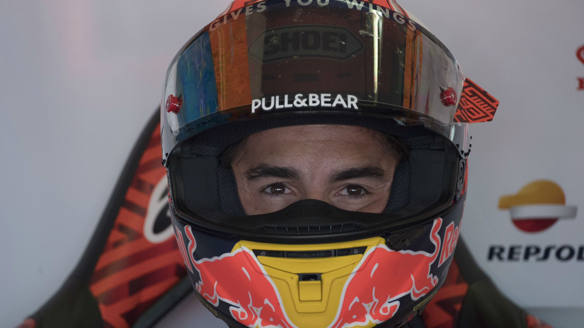 Having been in a fight for track position with Valentino Rossi during qualifying, Marc Marquez was eager to upset the Misano favourite.
