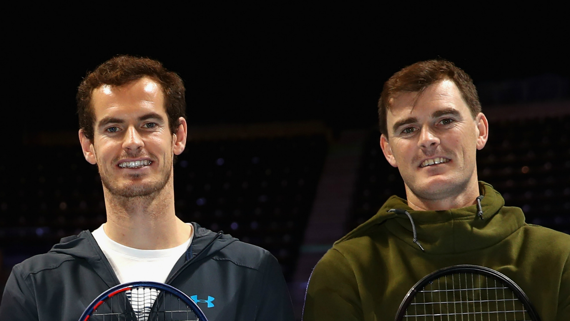 Andy Murray is not ready for singles action yet but will partner brother Jamie in doubles at Washington's Citi Open next week.