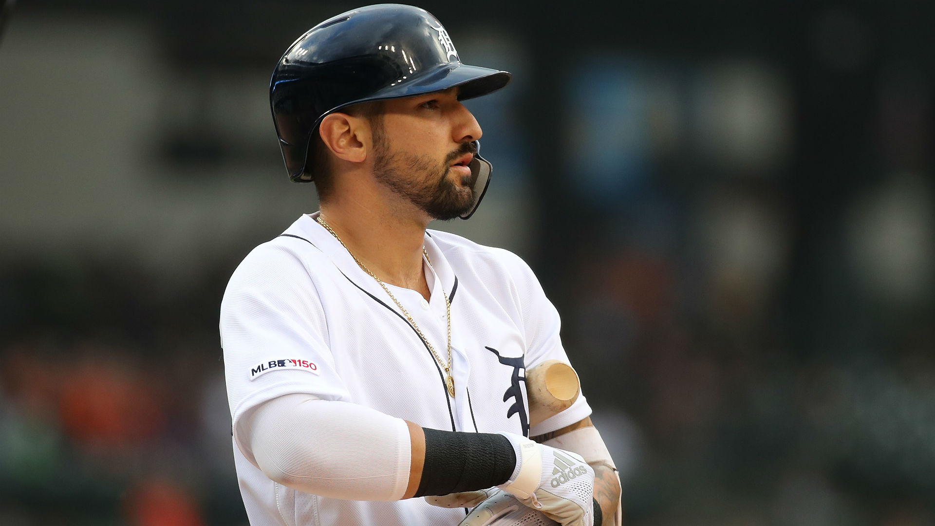 Castellanos is slashing .280/.339/.467 with 10 home runs and 35 RBIs in 92 games this season.