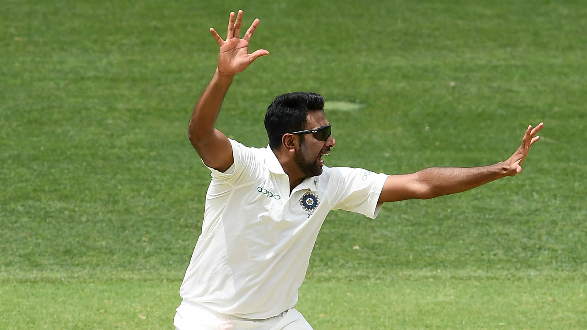 The bowlers have had the upper hand in the opening Test between Australia and India, but Ravichandran Ashwin is not content just yet.