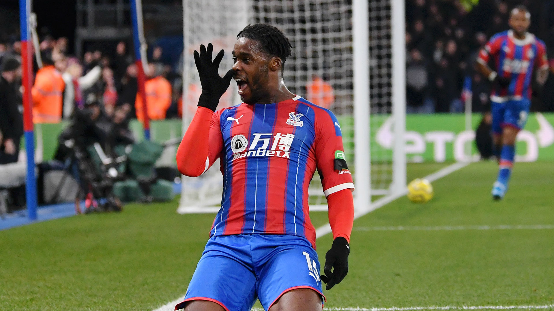 Crystal Palace moved up to fifth in the Premier League as Jeffrey Schlupp's second-half strike earned a 1-0 win over struggling Bournemouth.