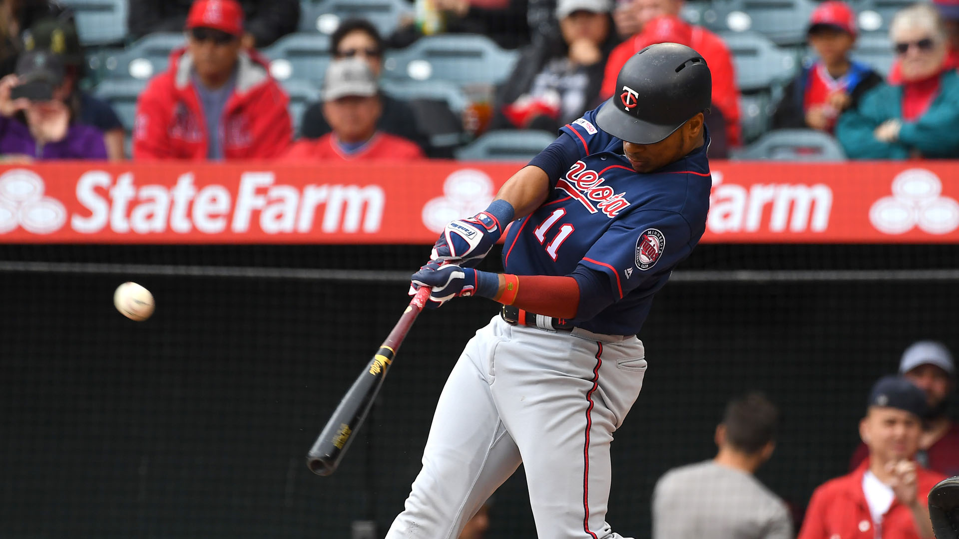 Jorge Polanco trails only Mike Trout among American League position players in WAR.