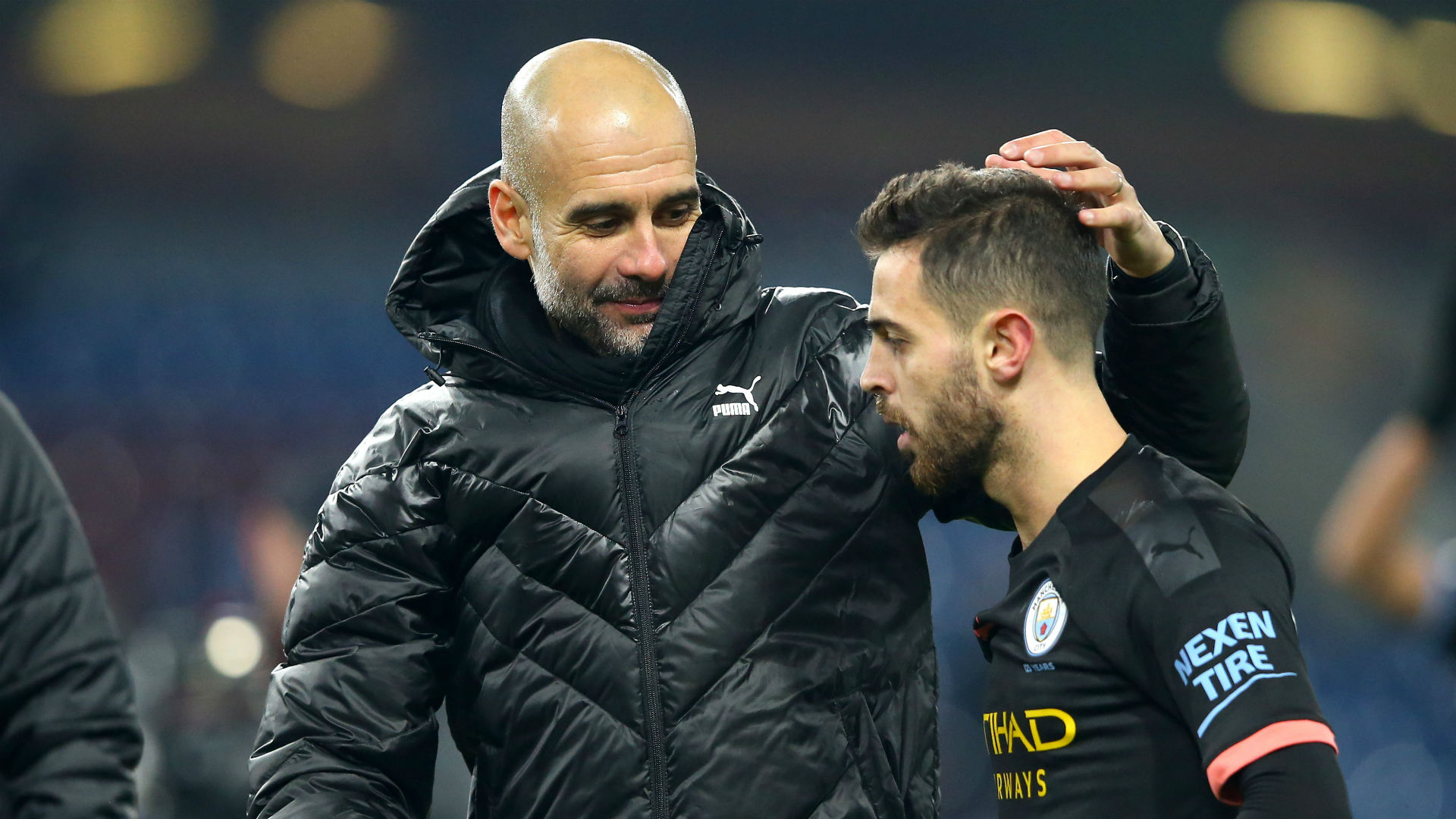 Manchester City returned to winning ways against Burnley but Pep Guardiola was at once sarcastic and realistic regarding their title hopes.