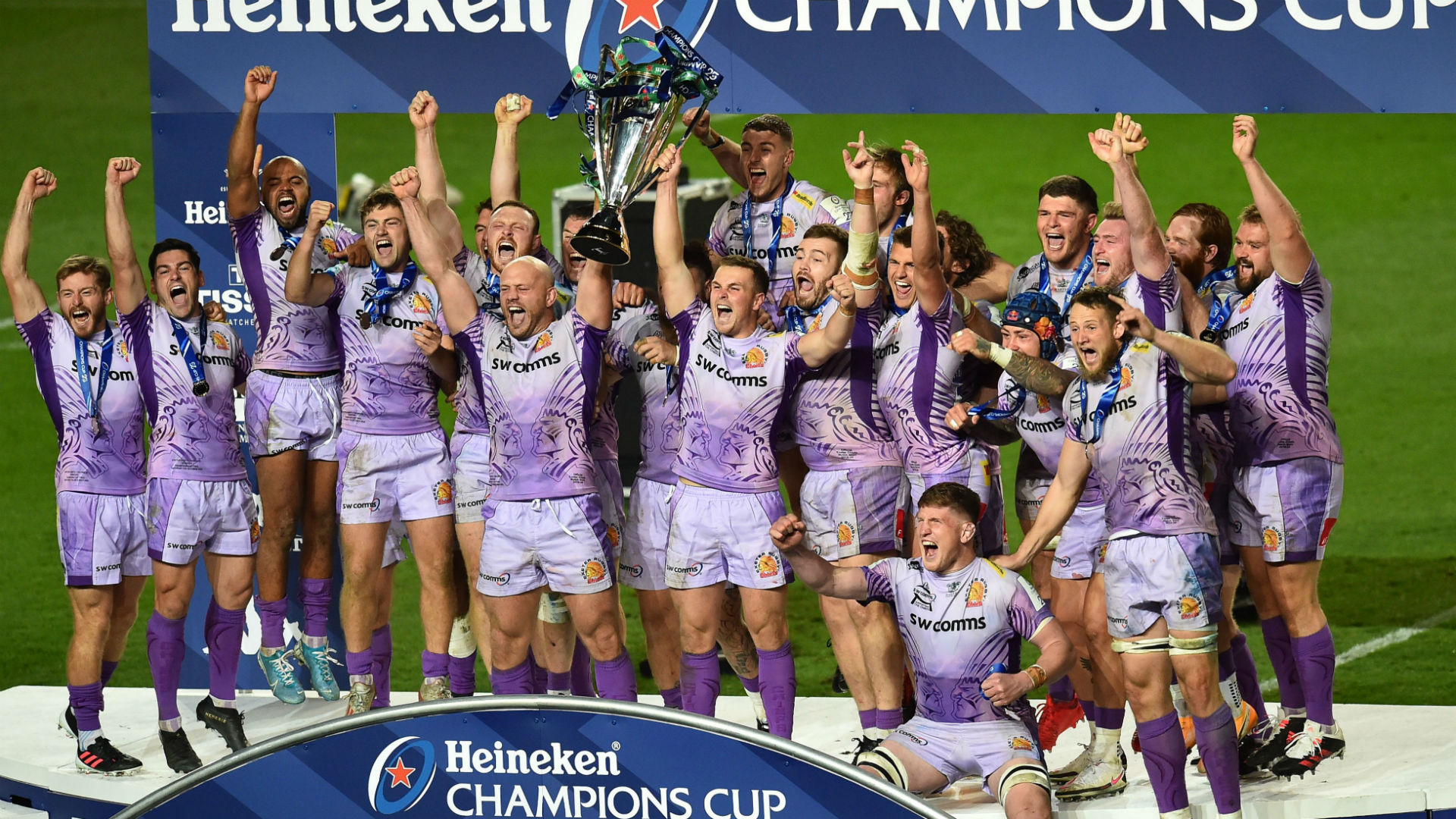 A decade after they were promoted to the Premiership for the first time, Exeter Chiefs are champions of  Europe.