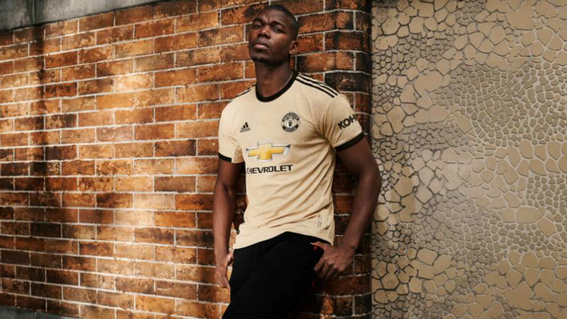 As talk continues over Paul Pogba's desire to leave Manchester United, the midfielder was still used for the launch of their new away kit.