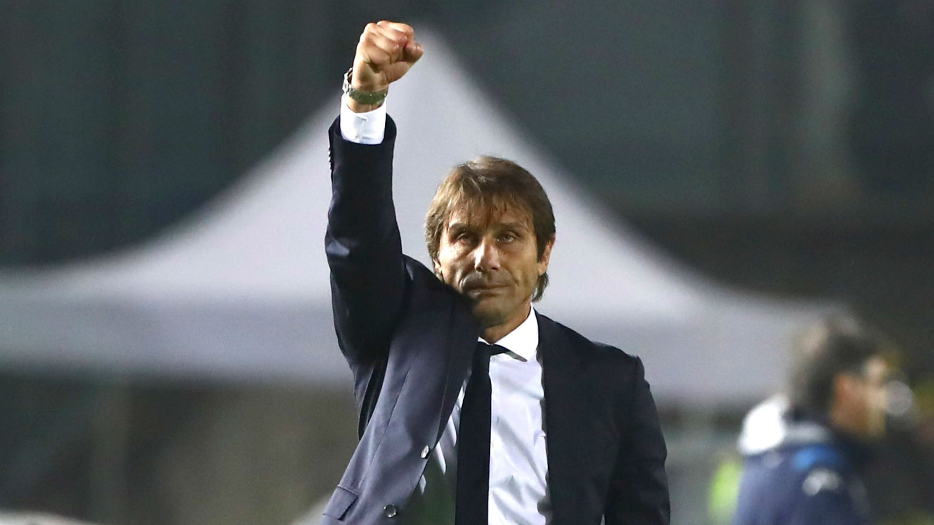 The fighting spirit shown by Inter's players after a 2-1 win over Bologna in Serie A impressed head coach Antonio Conte.