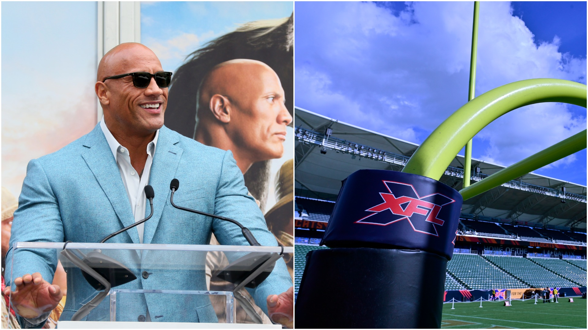 'The Rock' purchases XFL