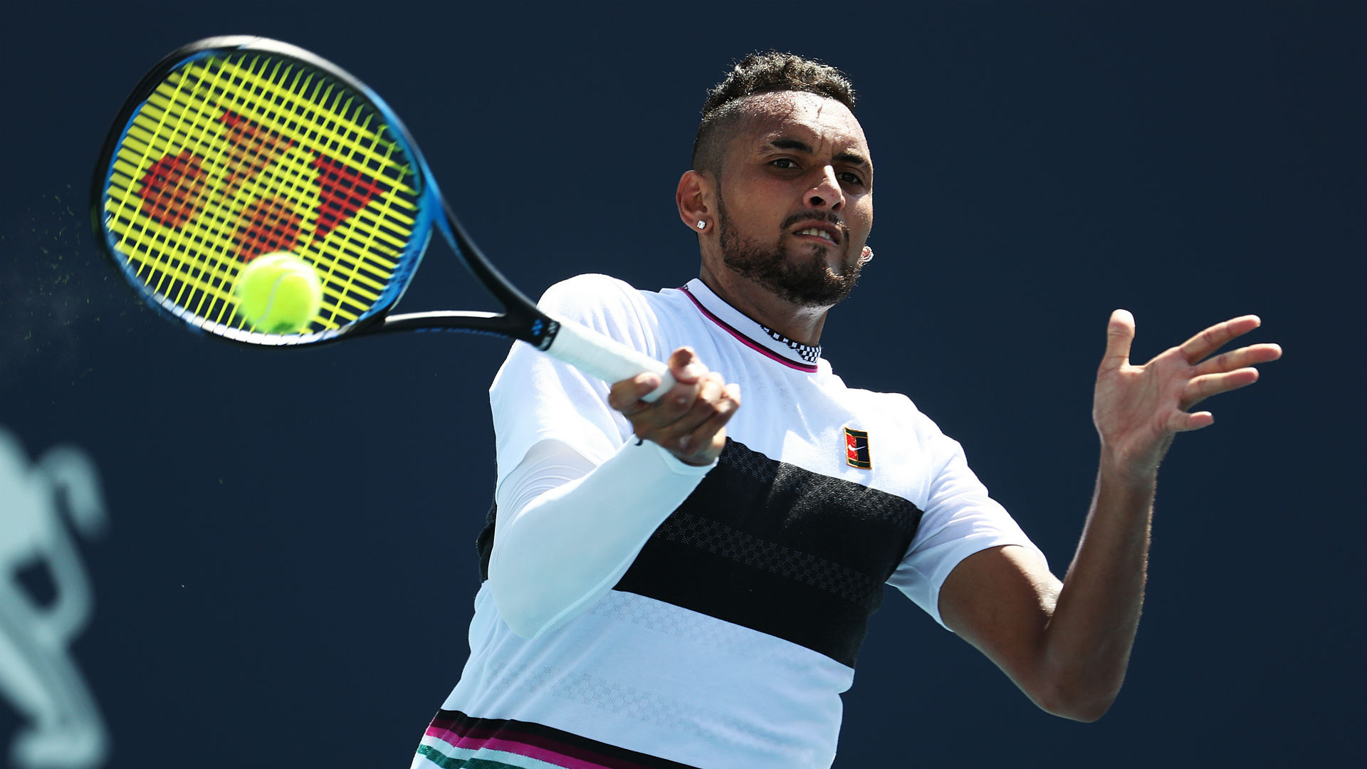 Nick Kyrgios says he cannot stand Novak Djokovic and described Rafael Nadal as his 'polar opposite'.