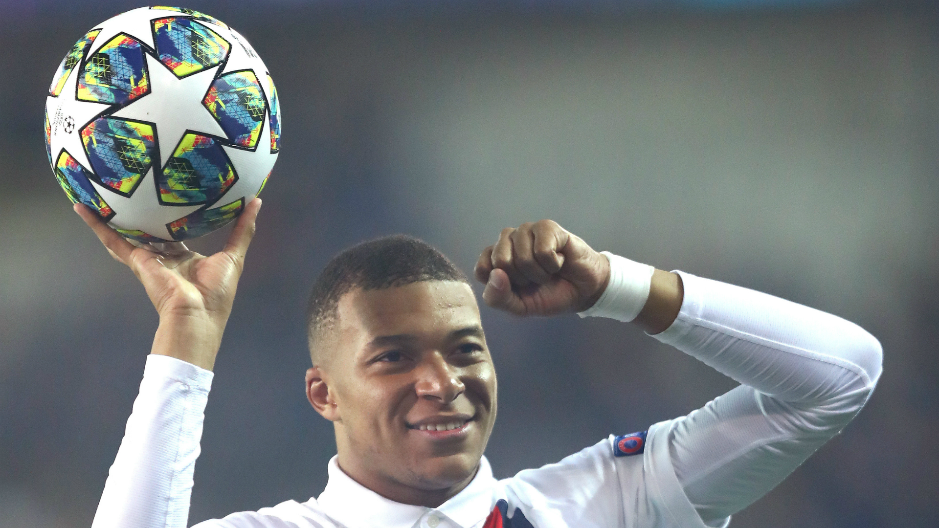 Kylian Mbappe became the youngest player to score 15 Champions League goals, surpassing Lionel Messi.
