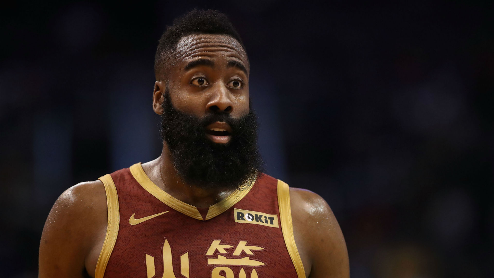 Reigning MVP James Harden continued his 30-point scoring streak, but said he was only bothered about beating the Dallas Mavericks.