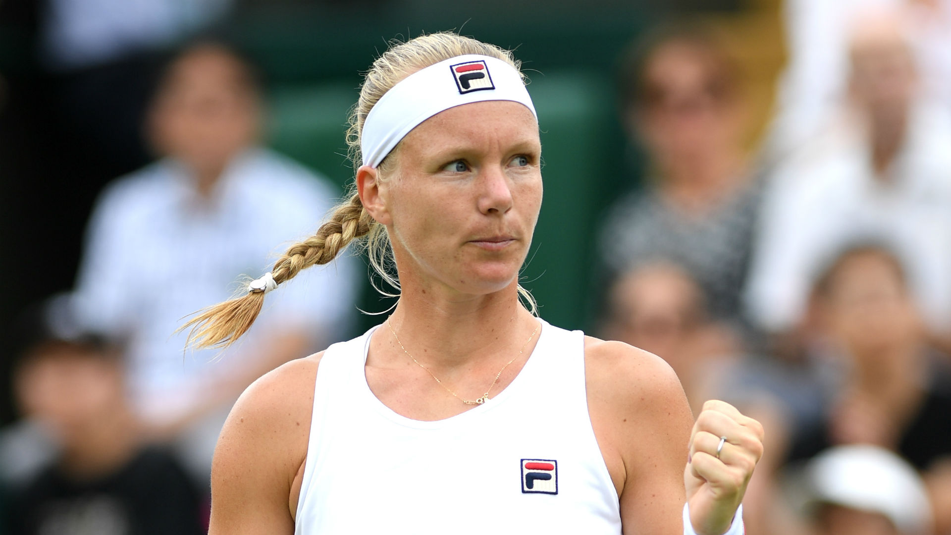 Kiki Bertens beat Aleksandra Krunic at the Palermo Open, while Anastasia Potapova battled past Diana Marcinkevica at the Baltic Open.