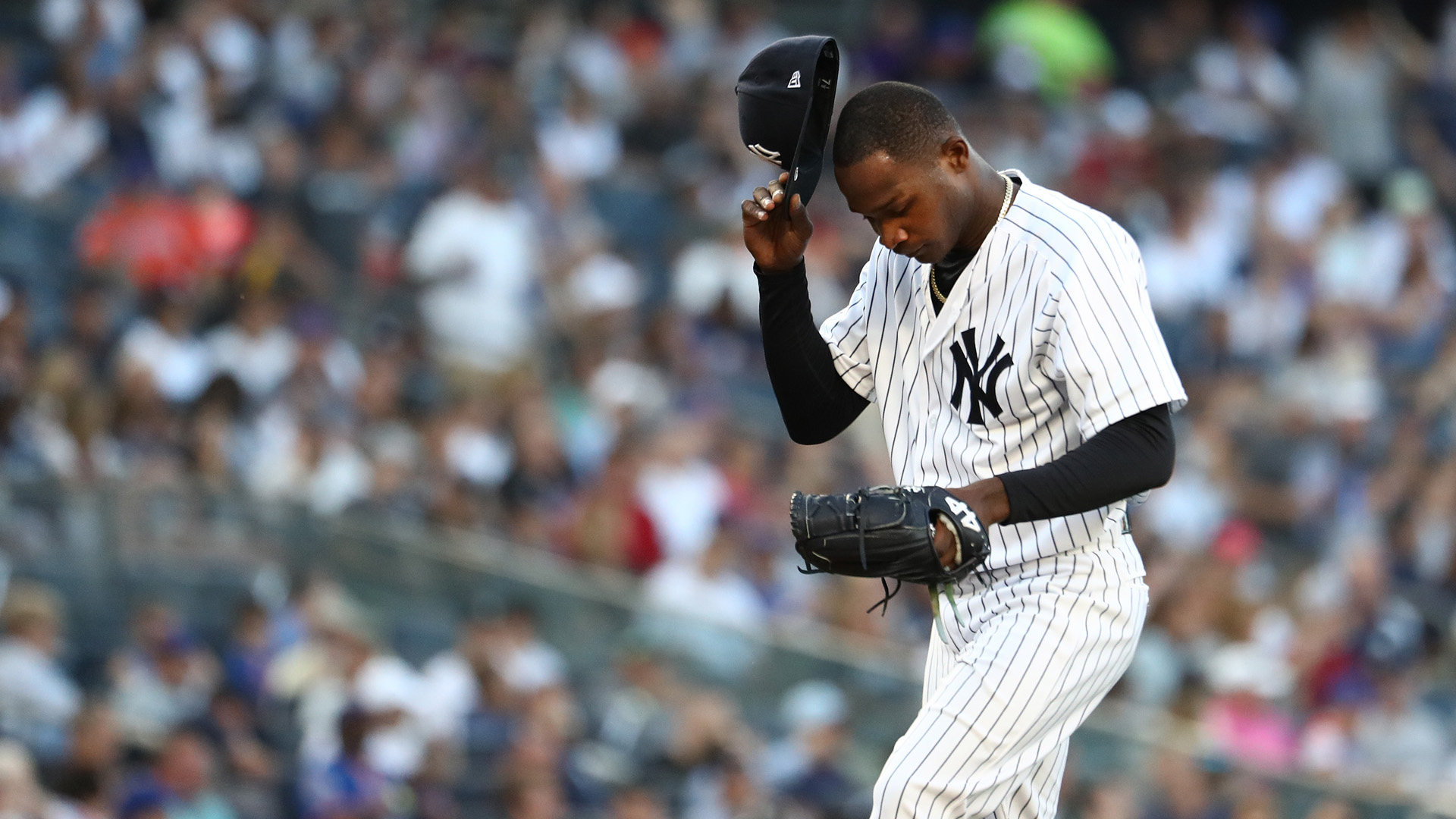 Yankees place Domingo German on IL