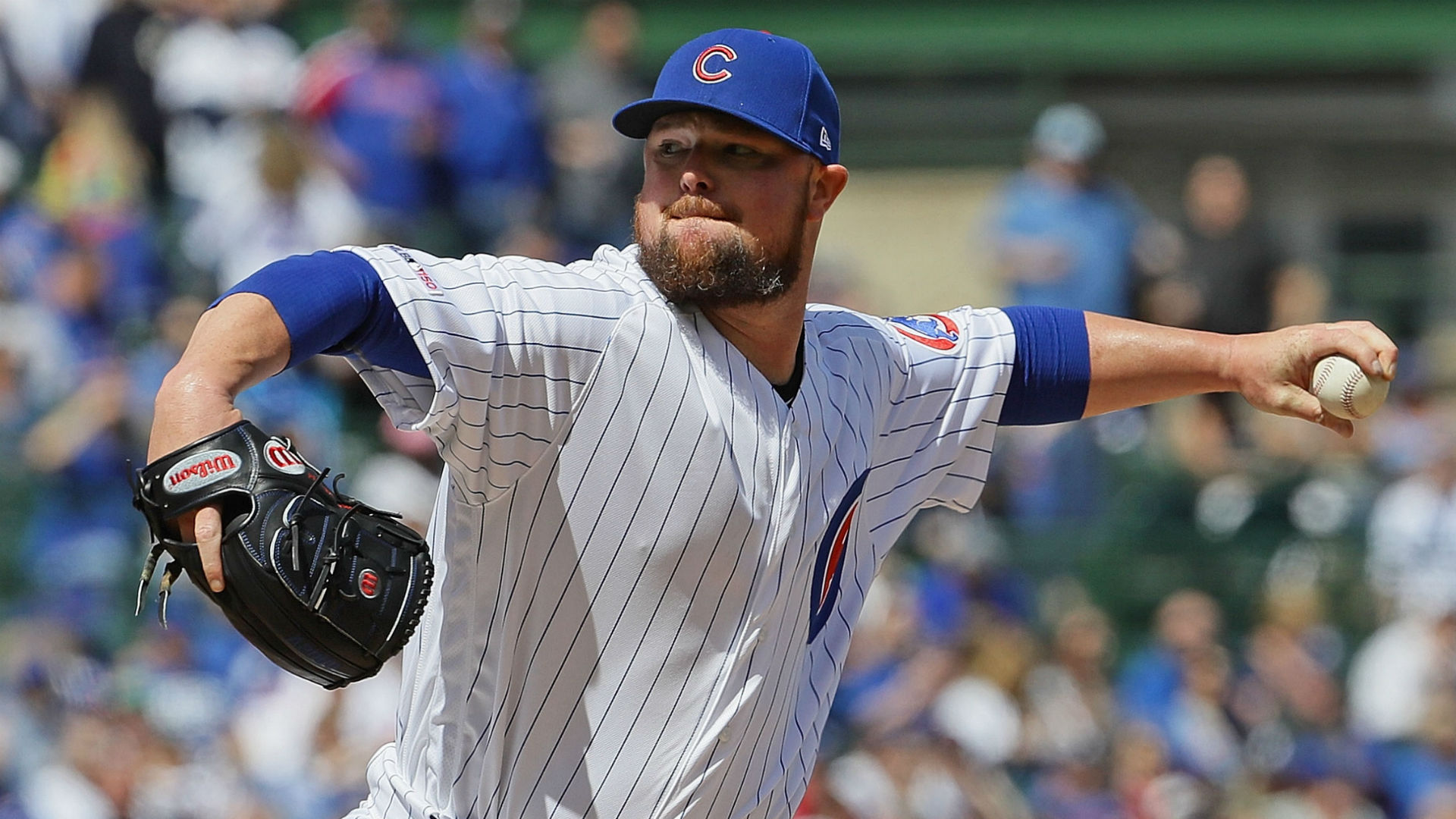 Cubs' Lester throws simulated game
