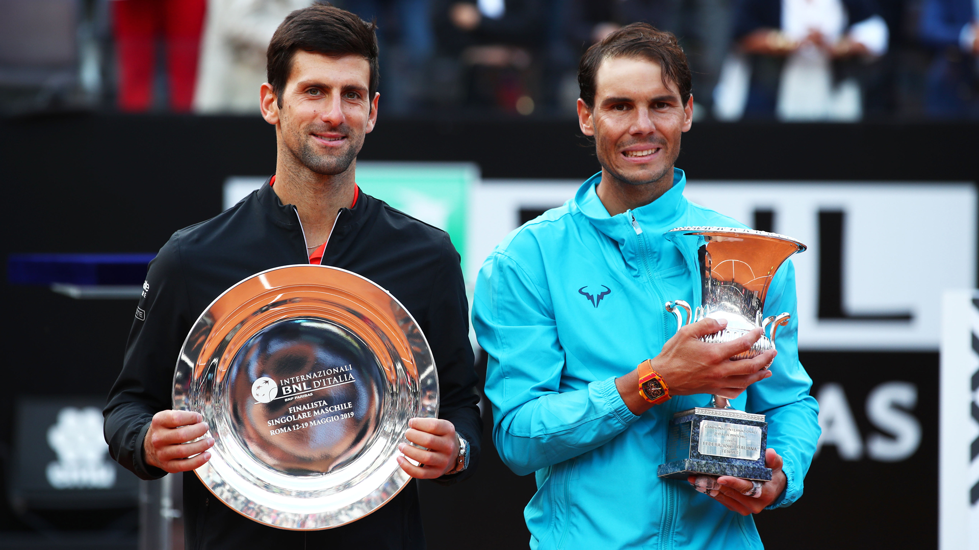 "Rafael Nadal is the ""number one favourite"" for the French Open, according to Novak Djokovic."