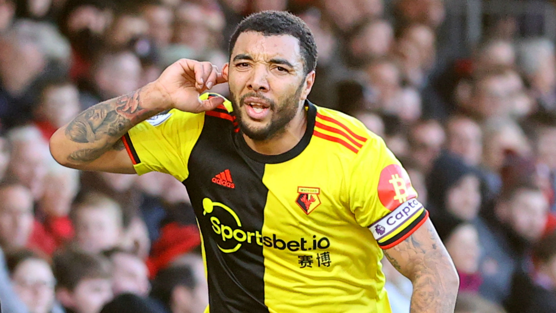 Abdoulaye Doucoure, Troy Deeney and Roberto Pereyra scored to earn Watford a 3-0 win at Bournemouth as they moved out of the bottom three.
