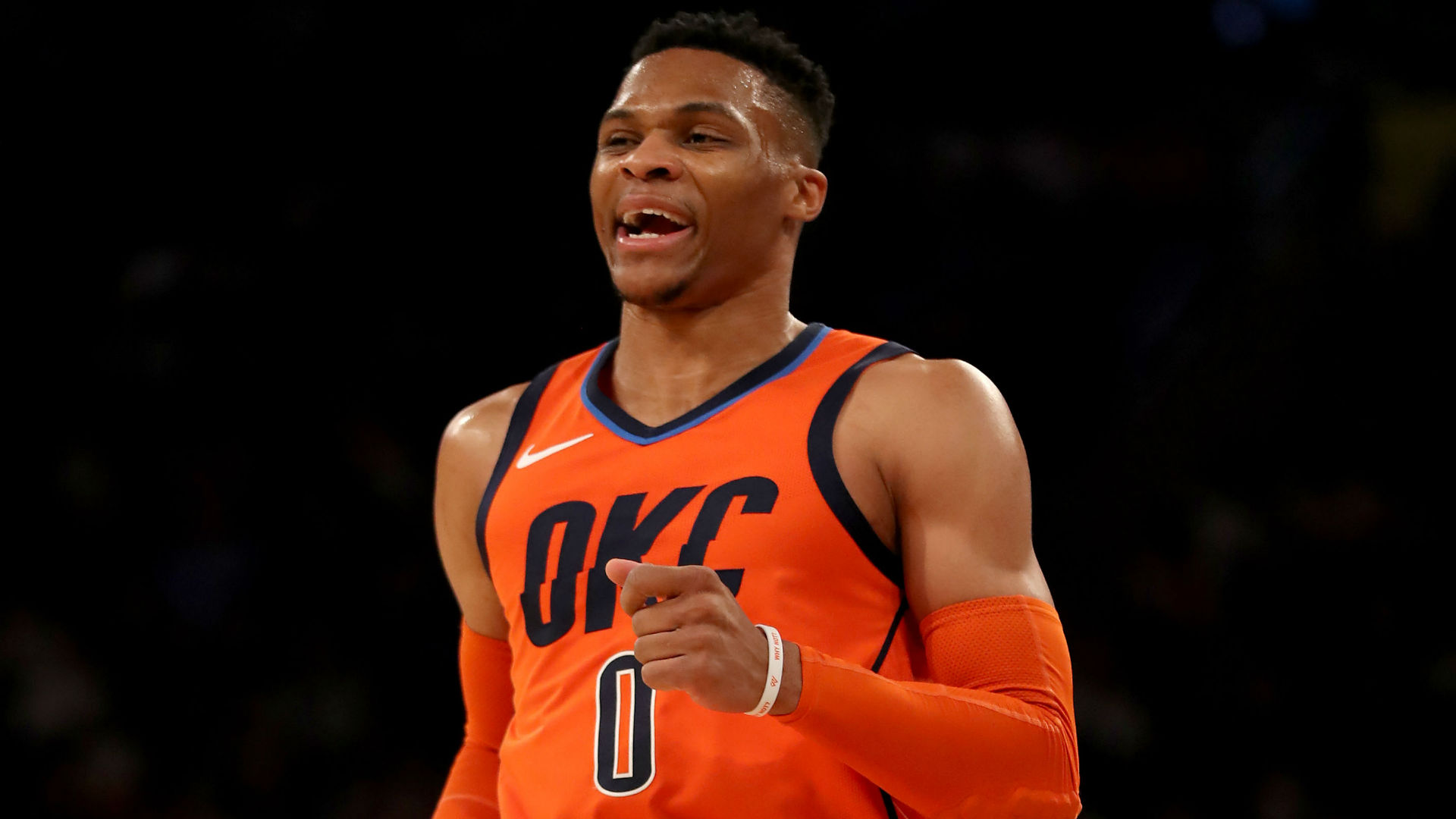 Russell Westbrook recorded a 10th consecutive triple-double to make history in the NBA.