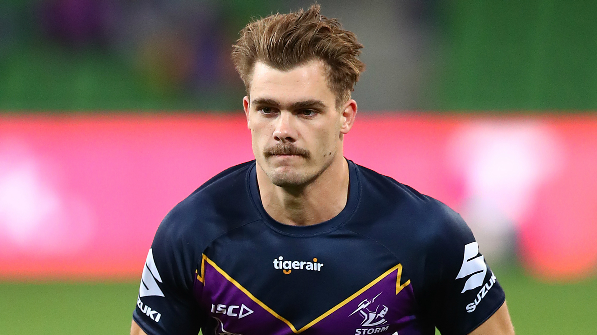 Captain Cameron Smith's shoulder injury dealt a blow to Melbourne Storm, but Ryan Papenhuyzen turned on the style against Newcastle Knights.