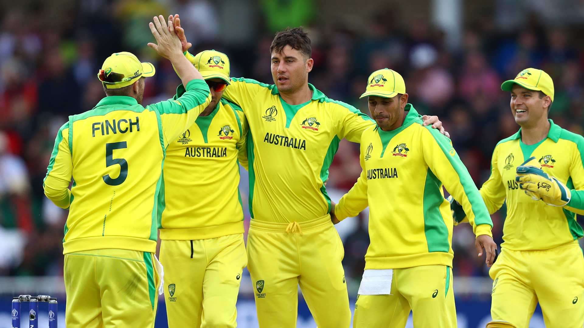 Australia and Bangladesh fought out a high-scoring and hugely entertaining Trent Bridge tussle - and the World Cup holders took the win.