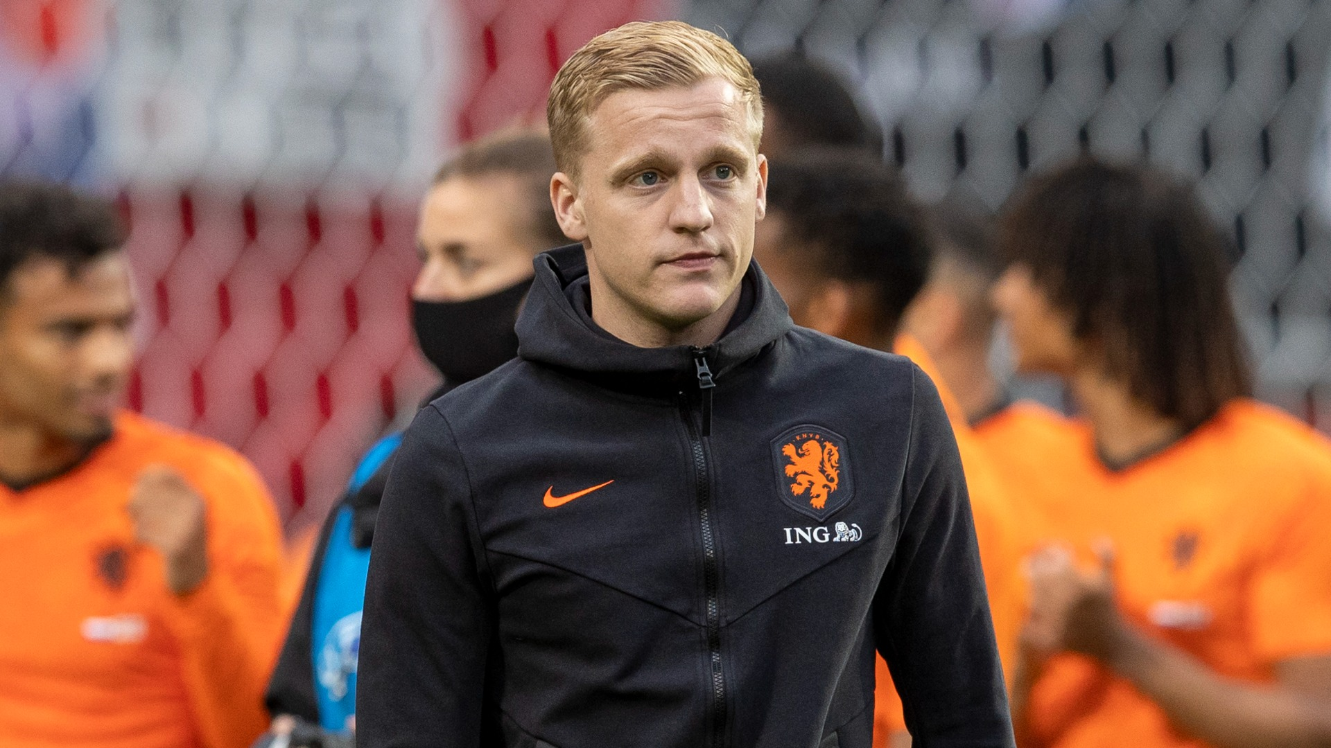 Luckless Netherlands midfielder Donny van de Beek will play no part in Euro 2020 due to an injury blow.