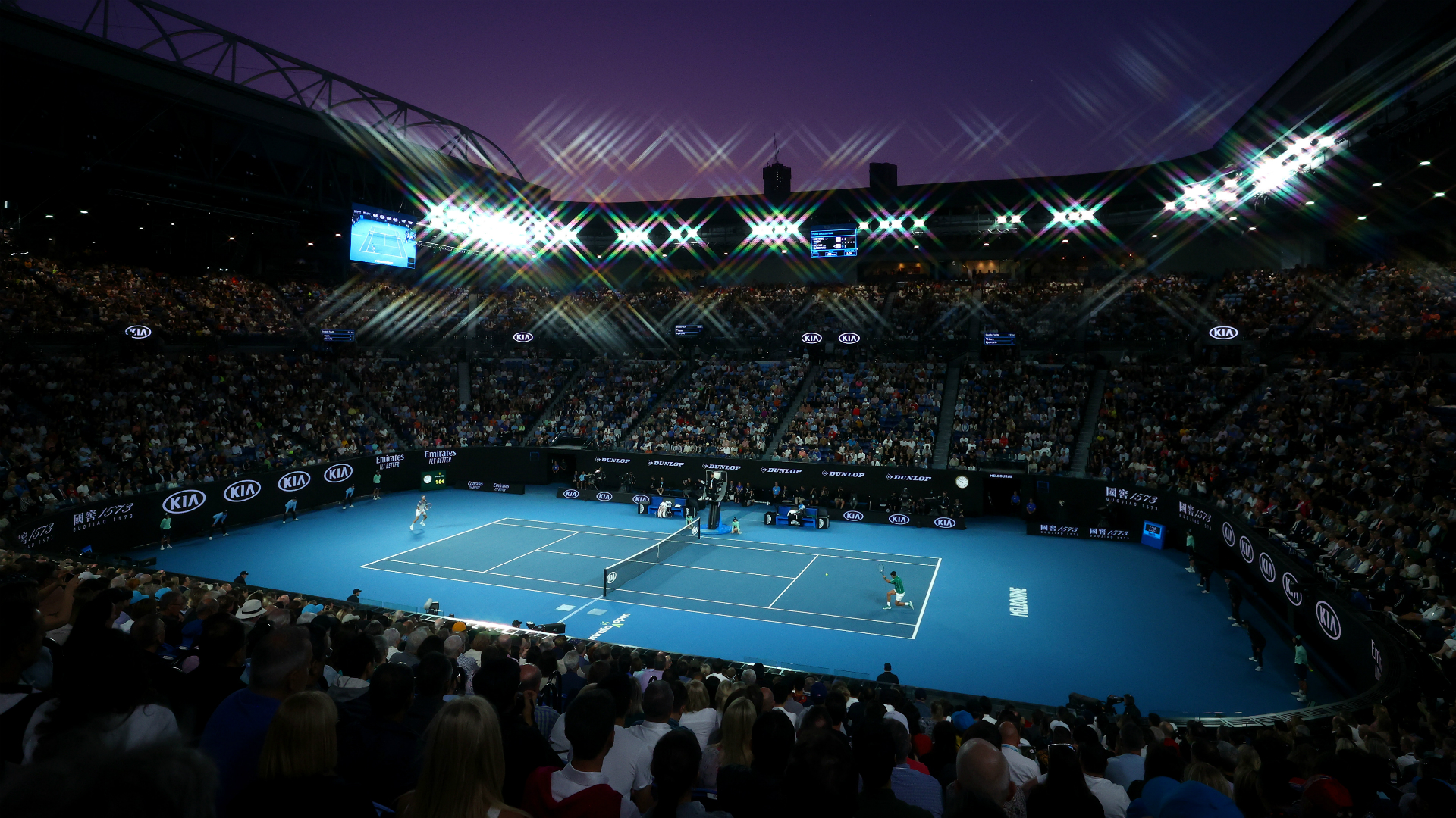 Next year's Australian Open is set to be delayed by a week or two.
