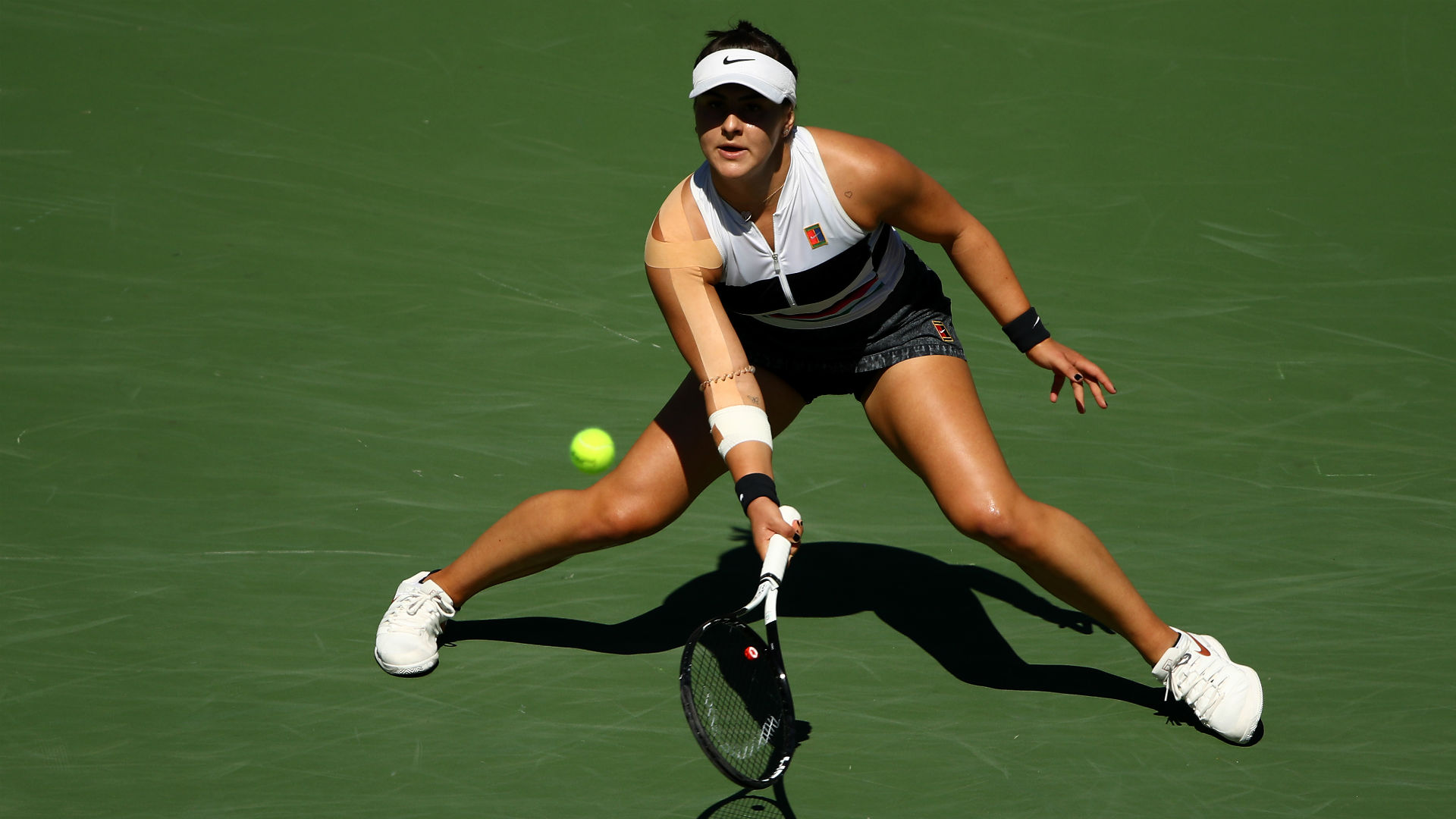 Andreescu claims Indian Wells title