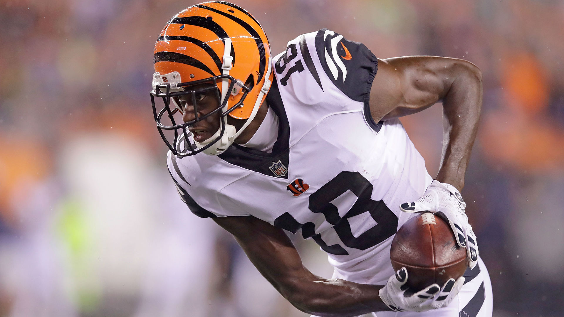 A.J. Green is focusing on returning to full fitness, not rumours linking him with a trade away from the Cincinnati Bengals.